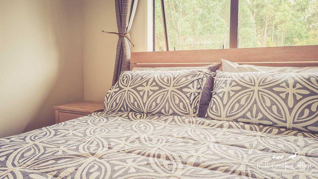 Bedroom 2 inside the Mill Creek Cottage